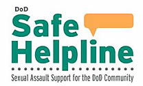 Graphic D.O.D. Safe Helpline, Sexual Assault Support for the D.O.D. Community