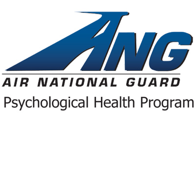 Graphic ANG; Air National Guard. Psychological Health Program