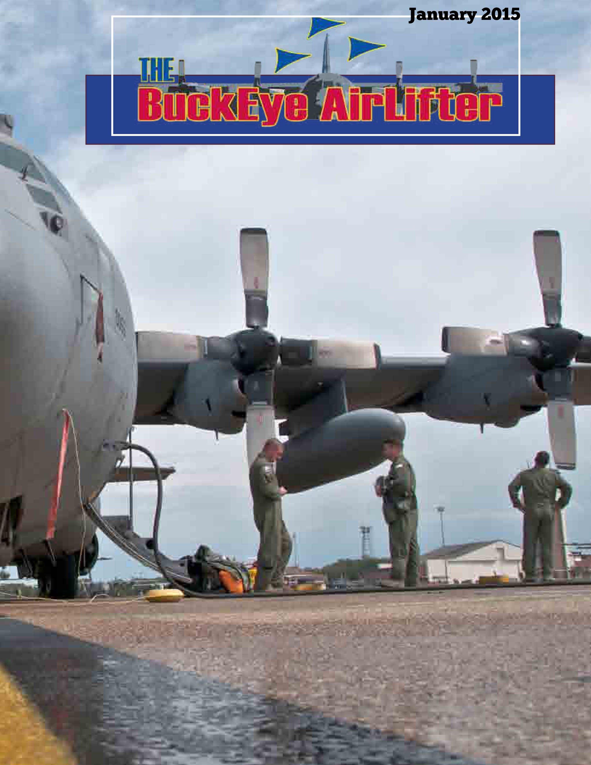 Cover of the Buckeye Airlifter